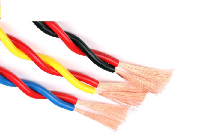 Shielded 12 Gauge Insulated Copper Wire For Commercial Building Heat Resistant
