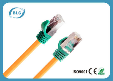 China Solid Stranded Cat6 Patch Cables Bulk With Metal Shielded 8P8C RJ45 Plugs supplier