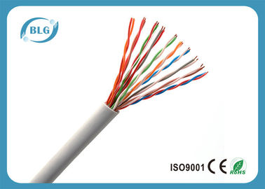China 20 Pairs Solid Cat3 Telephone Cable / Waterprooft 24AWG Phone Line Cable supplier