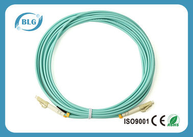 China 9/125μM Multimode Fiber Patch Cable , LSZH Jumper Fiber Optic Patch Cables supplier