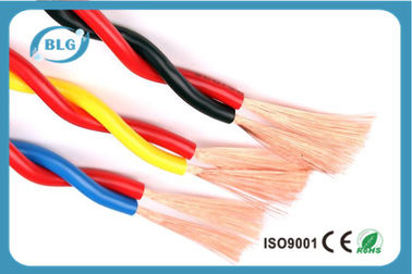 China Shielded 12 Gauge Insulated Copper Wire For Commercial Building Heat Resistant supplier