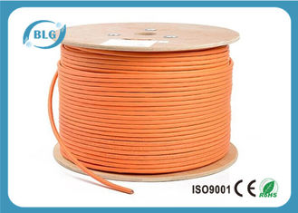 China 600 MHz Cat 7 Cable 1000 FT , Cat 7 Shielded Ethernet Cable HDPE Insulation supplier