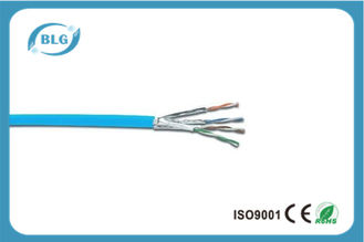 China 23AWG Cat6a Ethernet Cable / Cat6a External Cable Support 10G Network supplier
