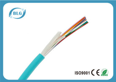 China Non Unitized 6 Strand Fiber Optic Cable , MM 50 / 125 OM4 Fiber Optic Network Cable supplier