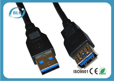 China Male To Female Computer Extension Cables For External Hard Drives USB 2.0 supplier