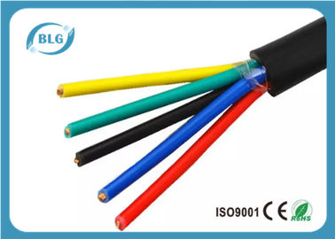 China Office Soft RVV Insulated Copper Wire With Multi - Cores High Mechanical Strength supplier