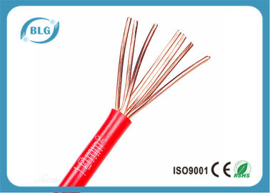 China BVR Single Strand Insulated Insulated Copper Wire For House Wiring 1.5mm 2.5mm supplier
