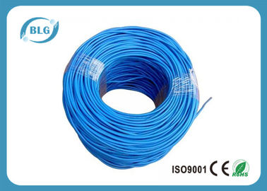 China 100% Bare Copper Cat5e Lan Cable UTP 4 Pairs Twisted Communication Network PVC Sheath supplier