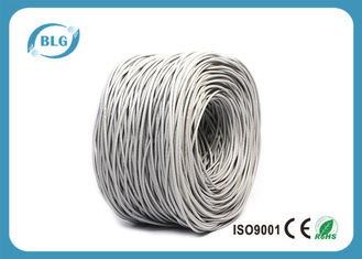 China Telecommunication Cat5e Internet Cable Solid Stranded 24AWG 26AWG Full Copper supplier