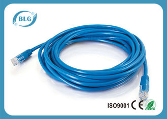 China RJ45 Connector UTP Patch Cord Unshield Cat5e For Computer Network Communication supplier