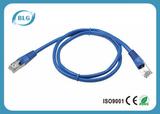 China Shielded Cat7 STP Ethernet Cable , RJ45 Cable Patch Cord 3M 5M Copper Material supplier