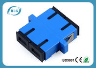 China Blue Dulplex Fiber Optic Cable Accessories Adapter For FTTH Network System factory