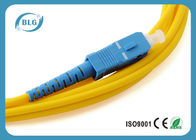 China High Transmission Rate Fiber Optic Patch Cord With Different Connectors High Precision factory