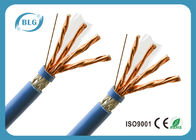 S / FTP 8 Cores Cat 7 Lan Cable With Skin - Foam - Skin Insulation Anti EMI