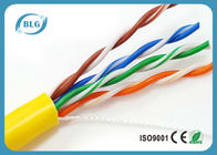 China 26AWG Category 5e Ethernet Cable 1000ft 4 Pair Solid Bare Copper Unshielded Twisted Pair factory