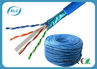 China Communication Cat6 Lan Cable Network Wire Shielded Solid Bare Copper For Computer factory