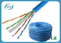 China Solid UTP Cable Ethernet Cat 6 Network Internet Cord 4 Pair Pure Bare Copper Wire 23AWG factory