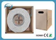 China Heavy Duty Ethernet Internet Cable Wire UTP Cat5e Gauge 24AWG 26AWG Pure Copper 1000/500FT factory