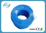 China 100% Bare Copper Cat5e Lan Cable UTP 4 Pairs Twisted Communication Network PVC Sheath factory