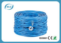 China 23AWG CU Internet Ethernet Lan Cable Unshield Cat6 4P 8 Cores Pair For TV / Switch Box factory