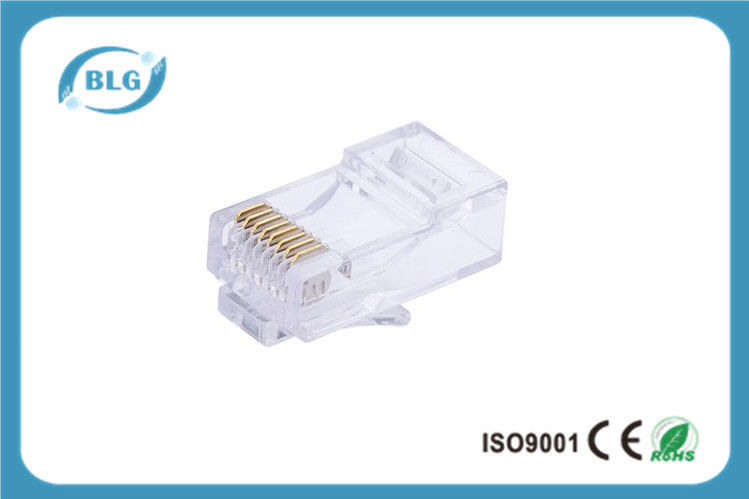 Surprising Fu To 50U Rj45 Connector Cat6 Golden Plated Network Cable Connector Wiring Digital Resources Hutpapmognl