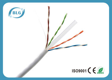 China 4 Pairs BC / CCC / CCA Cat6 Lan Cable For Outdoor And Indoor Extra Long factory
