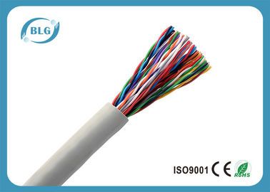 Communication Multi Cores Telephone Line Cable 10 To 50 Pairs HDPE PVC Jacket