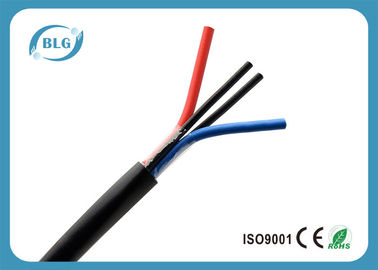 China Lightweight Insulated Copper Cable , Oil Resistance Insulated Stranded Copper Wire factory