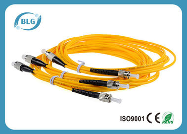 China FC ST 50/125um Lc To Lc Fiber Patch Cable Single Mode Customized Length distributor
