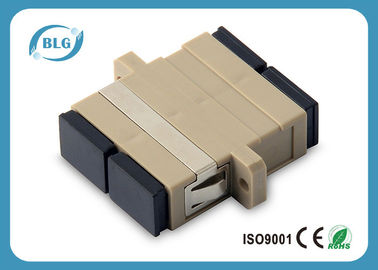 China SX / DX SC PC / APC Fiber Optic Cable Assemblies , SM / MM Fiber Optic Adapter distributor