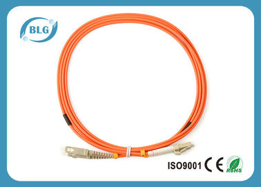 China Telecommunication Level Fiber Optic Patch Cord With 2.0mm LC Fiber Connector distributor