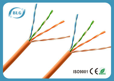 Networking LSZH Jacket Category 5e Cable , 26AWG BC / CCA Cat5e UTP Cable
