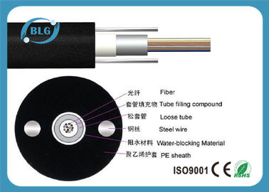 GYXY Unitube Black Bulk Fiber Optic Cable Non - Armored 12 Cores External