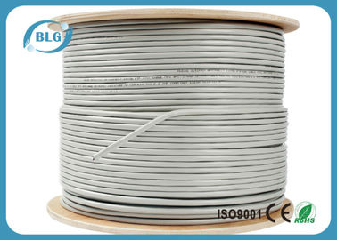 China FTP Shielded Cat6 Internet Cable CCA Copper 23AWG For Telephone Communication factory
