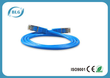 RJ45 Male - Male STP Patch Cable , Copper Shielded Patch Cable  Customized Length
