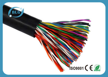 Outdoor UTP Multi Line Phone Cord HDPE Insulation With Bare Copper Conductor