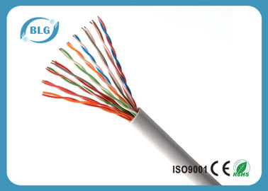 Indoor Telephone Cable Wire , 2 ~ 100 Pairs UTP Cat 3 Cable With Copper Material