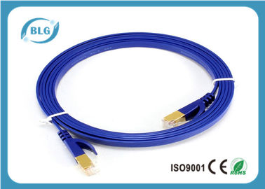 China Cat 6 Shielded Patch Network Cable FTP Lan Patch Cord 24 AWG Golded Plated RJ45 Connector distributor