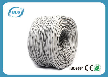 China Telecommunication Cat5e Internet Cable Solid Stranded 24AWG 26AWG Full Copper distributor