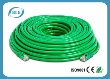 China Stranded BC CCA Cat6 Ethernet Patch Cable 26AWG 24AWG With 8P8C RJ45 Connector distributor