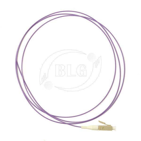 Simplex Single Mode Fiber Optic Patch Cord Low Insertion Loss 0.9mm