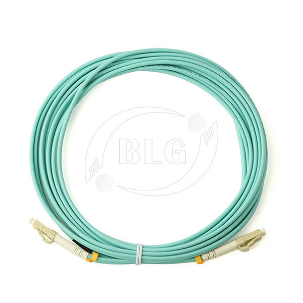 9/125μM Multimode Fiber Patch Cable , LSZH Jumper Fiber Optic Patch Cables