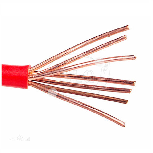 BVR Single Strand Insulated Insulated Copper Wire For House Wiring 1.5mm 2.5mm